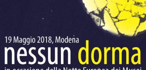 Nessun Dorma, la notte bianca riaccende il centro di Modena