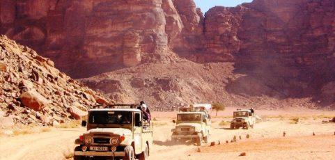 GIORDANIA: sulle tracce di Lawrence d'Arabia              (8-15 maggio 2019)