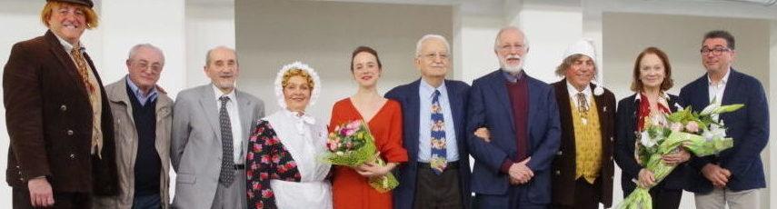 UTE-Premio RICCOBONI 2018 a GIULIANA LOJODICE e Premio AD UN ATTOR GIOVANE MARINA OCCHIONERO