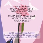 di rosa si tinge la Primavera … nel viaggio nei colori e nel segno – Mostra atelier Arti Visive UTE –