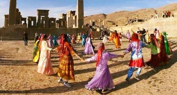 Bakhtiari a Persepoli