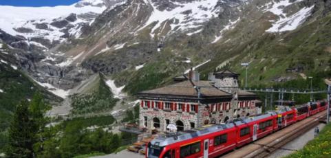 GHIACCIAI E GRAFFITI – Treno del Bernina e graffiti di Grosio 14/15 Marzo 2020