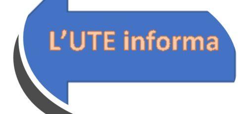 Iniziative UTE — settembre 2021